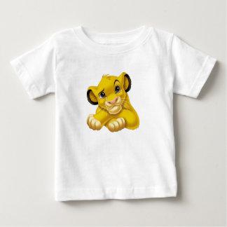 Simba el rey Raised Eyebrow Disney del león Playera De Bebé