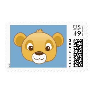 Simba Emoji Estampilla