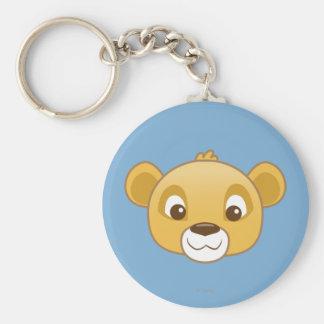 Simba Emoji Keychain