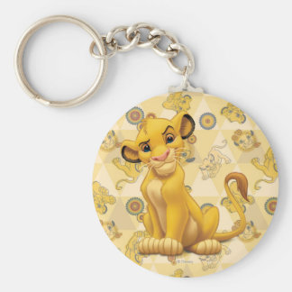 Simba Keychain