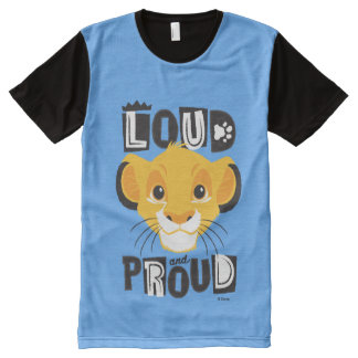 Simba | Loud And Proud All-Over-Print T-Shirt