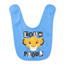Simba | Loud And Proud Bib