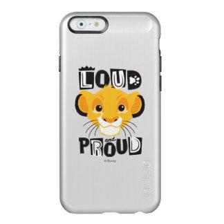 Simba | Loud And Proud Incipio Feather Shine iPhone 6 Case