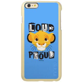 Simba | Loud And Proud Incipio Feather Shine iPhone 6 Plus Case