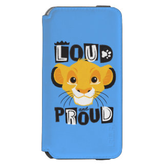Simba | Loud And Proud iPhone 6/6s Wallet Case