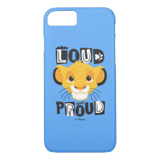 Simba | Loud And Proud iPhone 8/7 Case