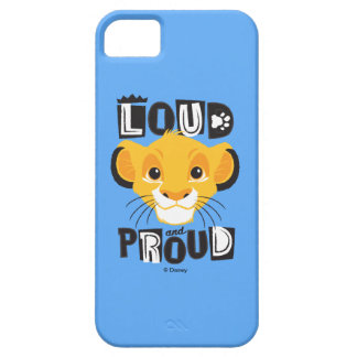 Simba | Loud And Proud iPhone SE/5/5s Case