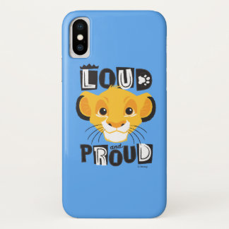 Simba | Loud And Proud iPhone X Case