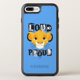 Simba | Loud And Proud OtterBox Symmetry iPhone 8 Plus/7 Plus Case