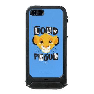 Simba | Loud And Proud Waterproof iPhone SE/5/5s Case