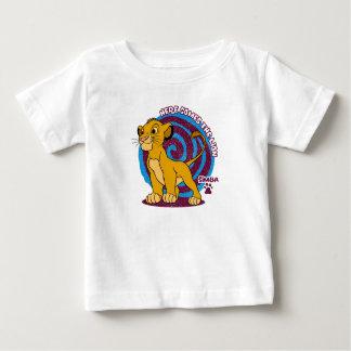 Simba Stands Proud Disney Baby T-Shirt