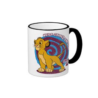Simba Stands Proud Disney Ringer Coffee Mug