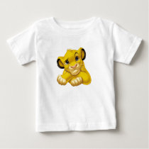 Simba The Lion King Raised Eyebrow Disney Baby T-Shirt