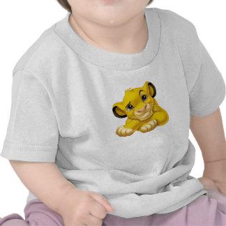 Simba The Lion King Raised Eyebrow Disney T-shirts