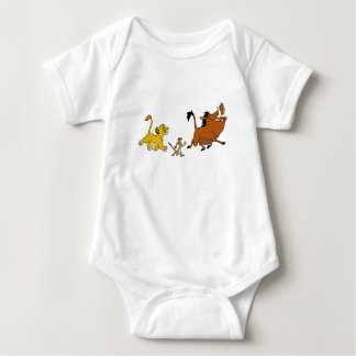 Simba, Timon, and Pumba Disney Baby Bodysuit