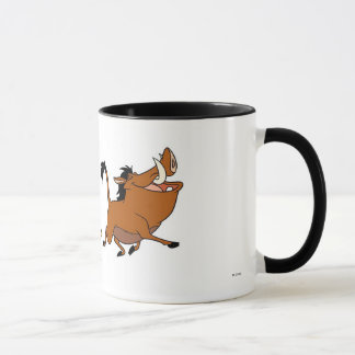 Simba, Timon, and Pumba Disney Mug
