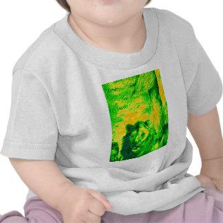 Simba verde Hakunamatata Simba Marara del león del Camisetas