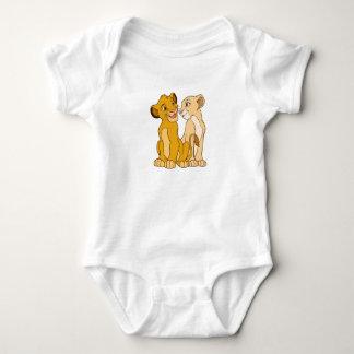 Simba y Nala Disney Body Para Bebé