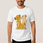 Simba y Nala Disney Playera