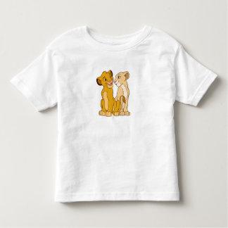 Simba y Nala Disney Playera De Bebé