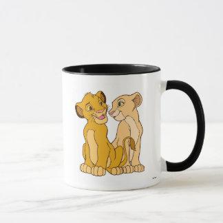Simba y Nala Disney Taza