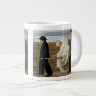 Simberg's Wounded Angel mugs