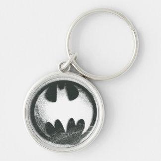 Símbolo 2 del aerosol de Batman Llavero