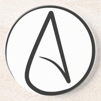 Símbolo #2 del ateísmo posavasos diseño