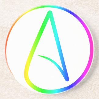 Símbolo #2 del ateísmo posavasos manualidades