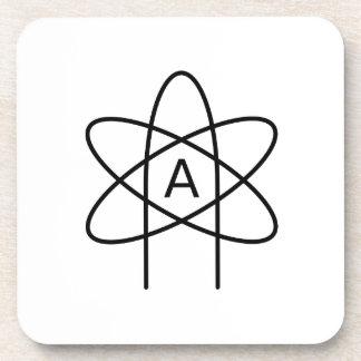 Símbolo #3 del ateísmo posavaso