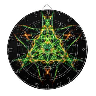 Símbolo abstracto del pentáculo para la conexión