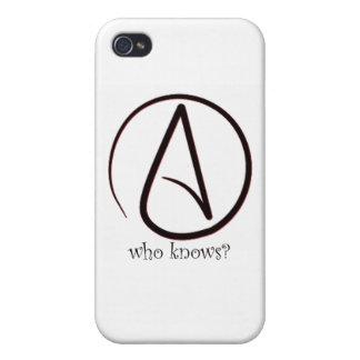 Símbolo agnóstico iPhone 4 funda