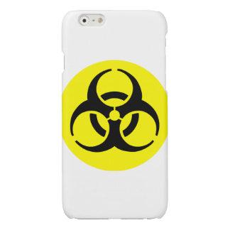 Símbolo amarillo del BioHazard