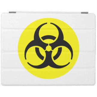 Símbolo amarillo del BioHazard Cover De iPad