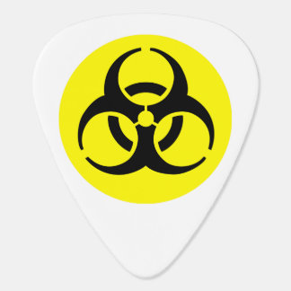 Símbolo amarillo del BioHazard Plectro