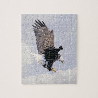 Símbolo americano de Eagle calvo de los Estados Un Puzzles