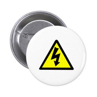 Símbolo amonestador de Electicity Pin
