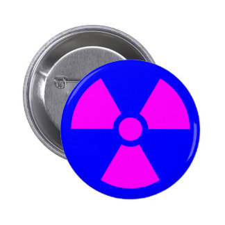 Símbolo amonestador de la radiación pin