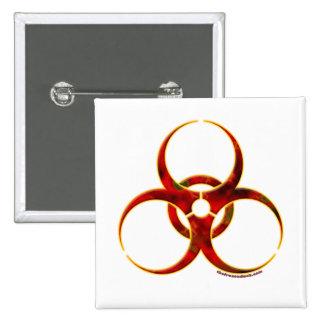 Símbolo amonestador del Biohazard Pin