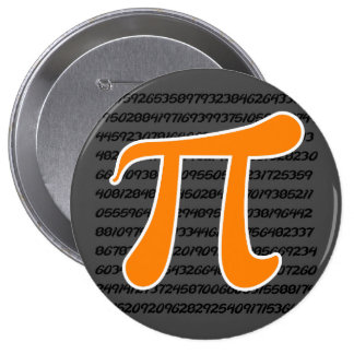 Símbolo anaranjado del pi pins