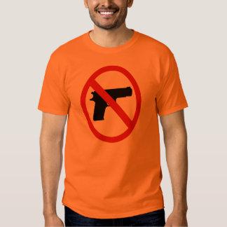 Símbolo anti del arma camisas