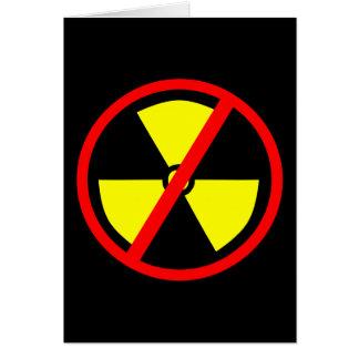 Símbolo antinuclear felicitación