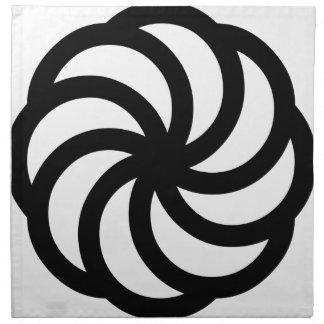 Símbolo armenio de la eternidad servilleta
