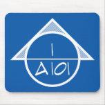 Símbolo arquitectónico Mousepad (luz) de la refere Alfombrillas De Raton