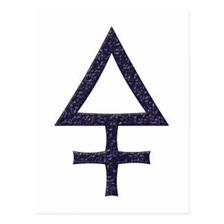 Símbolo asteroide Pallas Postal