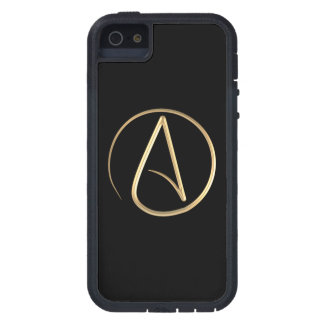 Símbolo ateo funda para iPhone 5 tough xtreme
