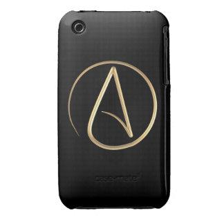 Símbolo ateo iPhone 3 carcasas
