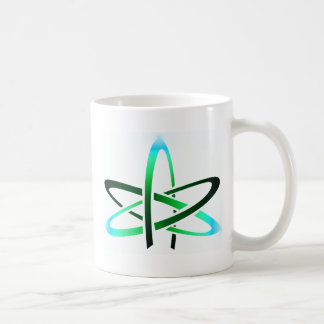 Símbolo ateo taza