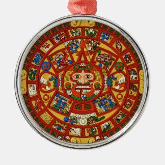 Símbolo azteca maya antiguo ornamentos de reyes magos