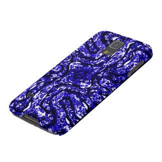 Símbolo azul céltico del nudo (elemento del agua) funda de galaxy s5
